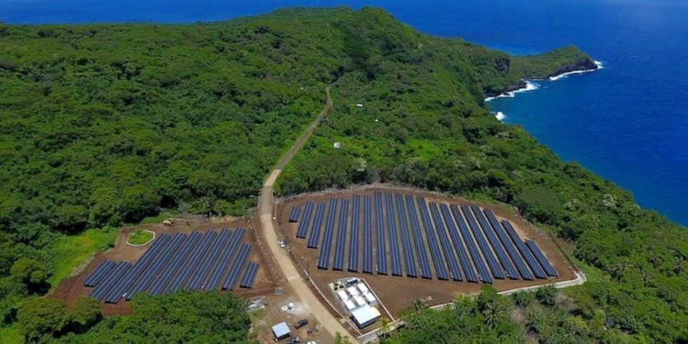 Tesla, SolarCity Power Entire Island With Solar + Batteries