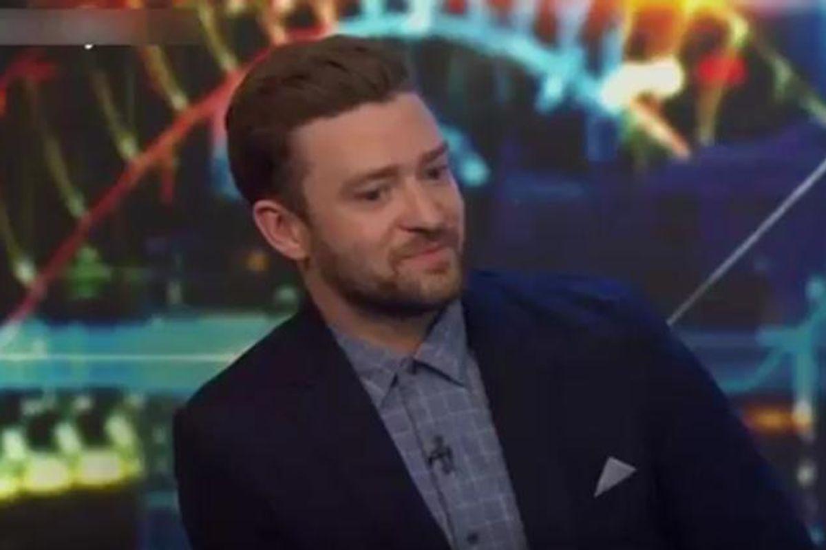 Justin Timberlake Regrets His Denim-On-Denim Splendor With Britney Spears