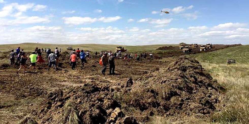 Why Sacred Sites Were Destroyed for the Dakota Access Pipeline