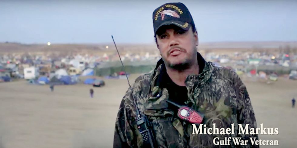 Hundreds of Veterans to Join Water Protectors at Standing Rock to Protest Dakota Access Pipeline