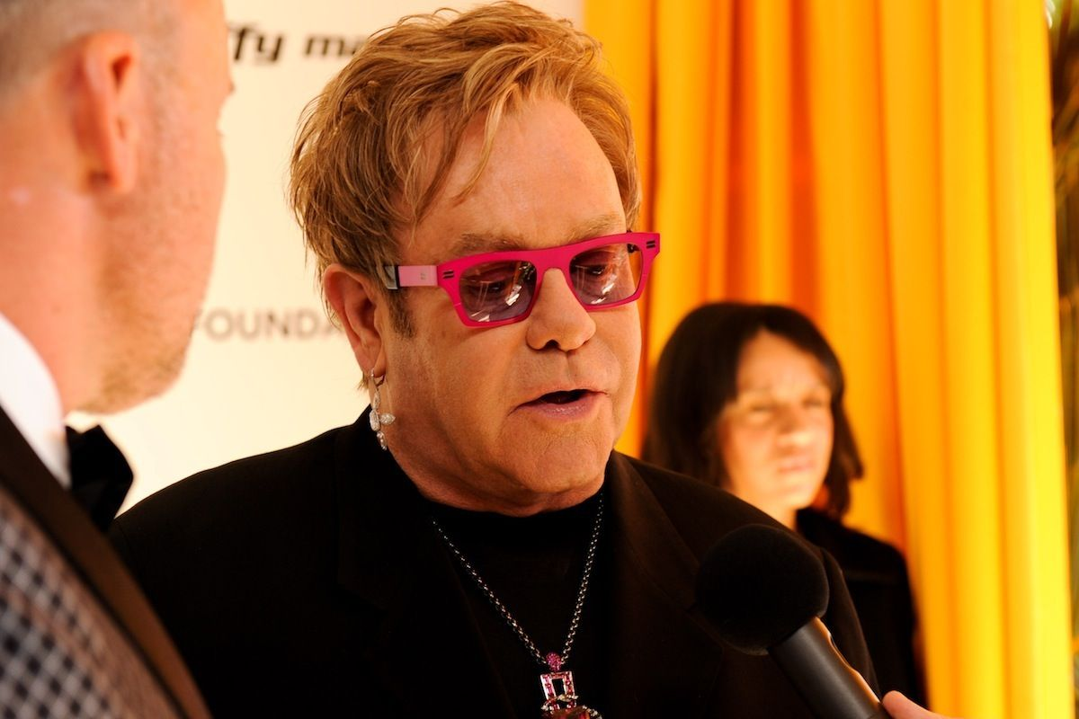 Elton John Denies Claim That He's Performing At Donald Trump's Inauguration