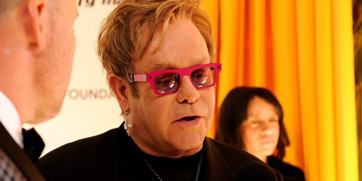 Elton John Denies Claim That He's Performing At Donald Trump's Inauguration