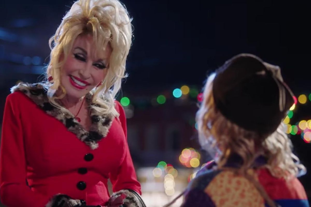 Watch Dolly Parton's Cameo As A Prostitute In The Heartwarming Trailer For Her New Christmas Movie