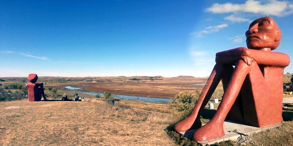 This Statue at Standing Rock Sends a Powerful Message of Resistance