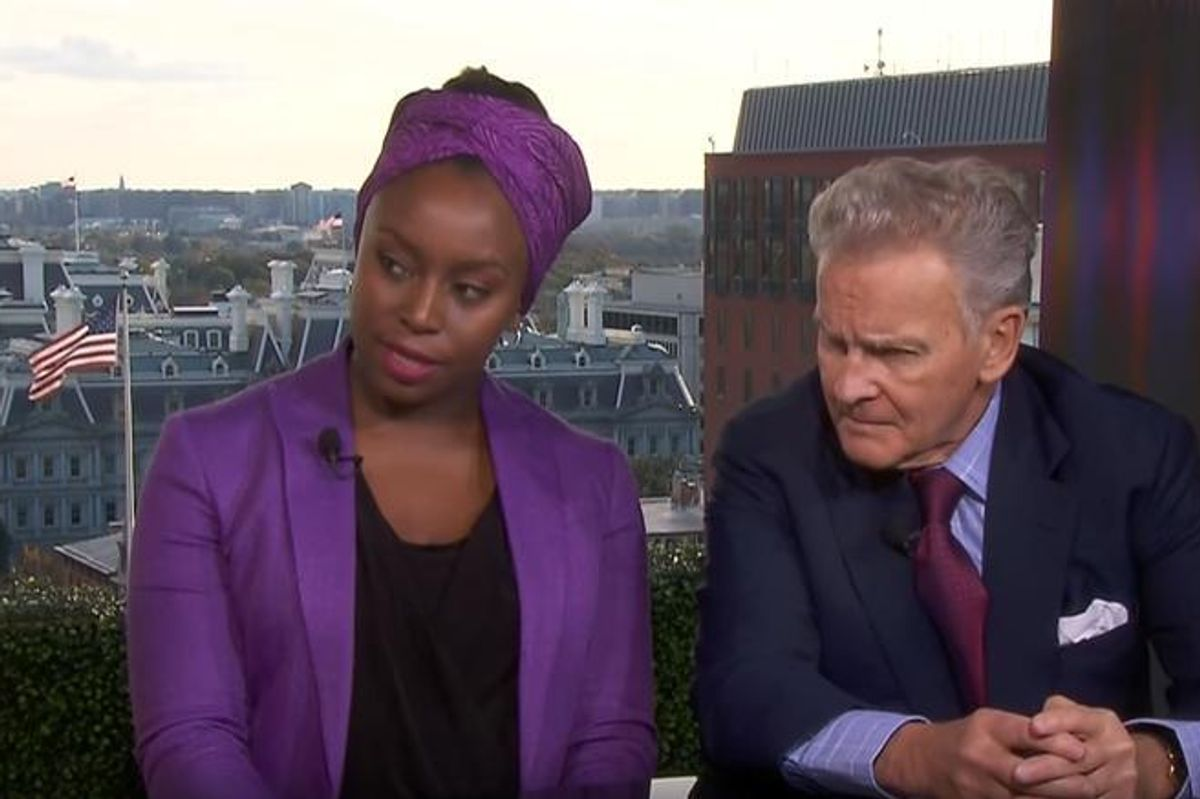 "Chimamanda Ngozi Adichie Calls Out BBC For ""Sneakily Pitting"" Her Against Trump Supporter In Interview"