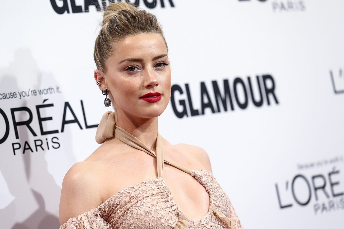 Watch Amber Heard's Emotional Domestic Violence PSA