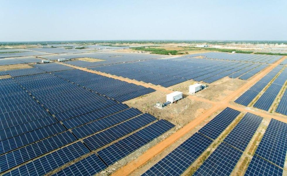 World's Largest Solar Farm Leapfrogs India to Third in Utility-Scale Solar
