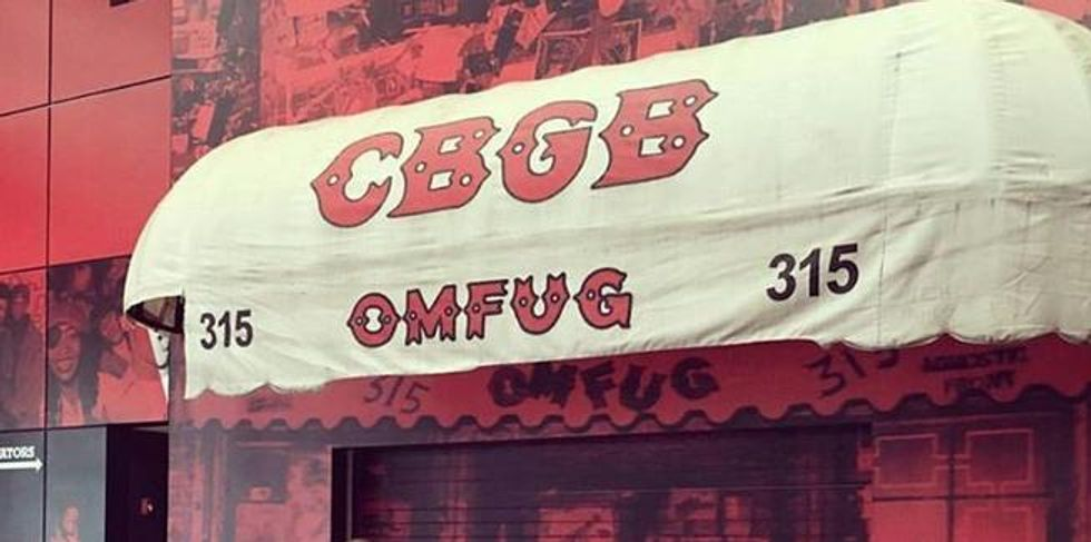 You Might Be Able To Own An Original CBGB Awning