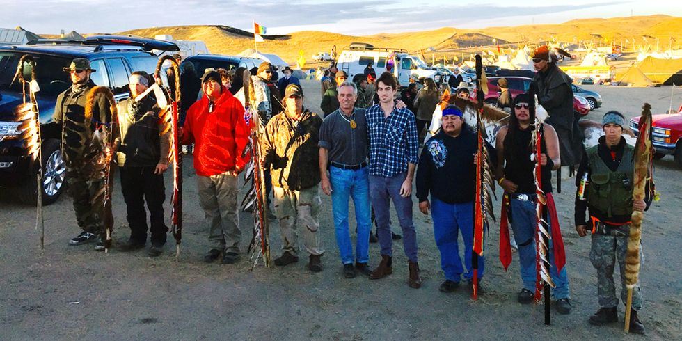 Robert F. Kennedy, Jr: 'I'll See You at Standing Rock'
