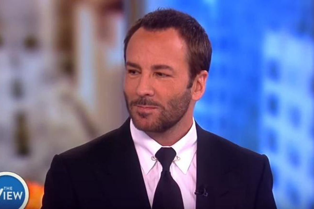 Tom Ford Wasn't Dressing Melania Trump Before It Was Cool