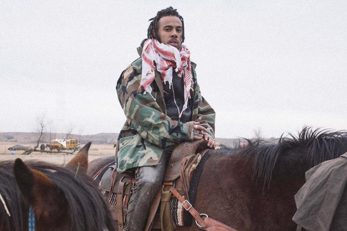 Vic Mensa Has Joined The Water Protectors At Standing Rock