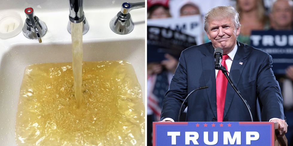 Donald Trump's Connection to the Flint Water Crisis