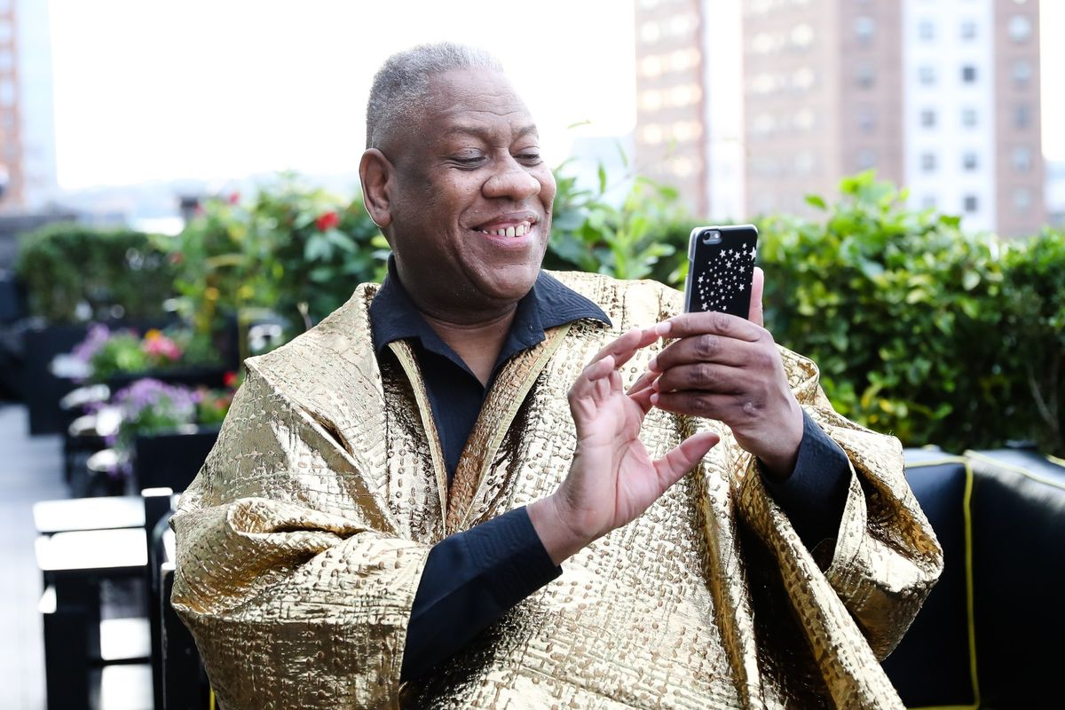 """André Leon Talley Thinks Melania Trump Will Be A """"Wonderful"""" First Lady"""