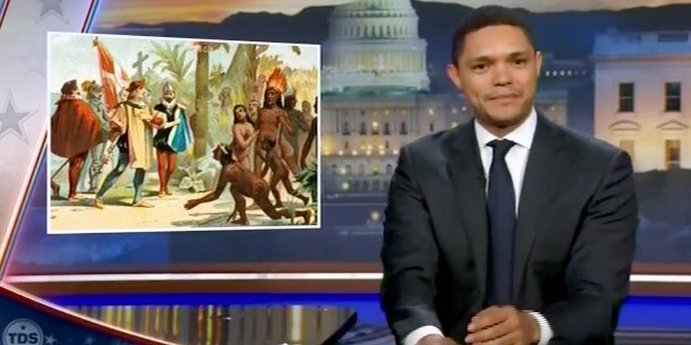 Trevor Noah: Maybe This Time the White People Could Move
