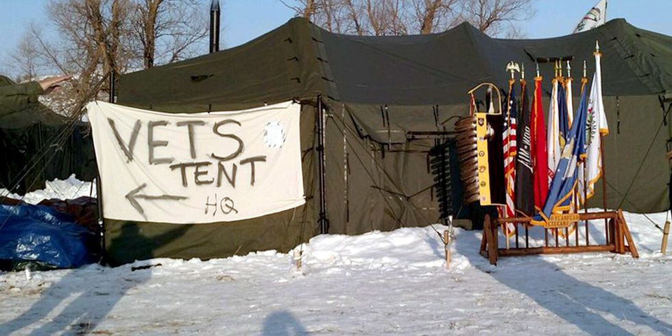 Thousands of Veterans Arrive at Standing Rock to Act as 'Human Shields' for Water Protectors