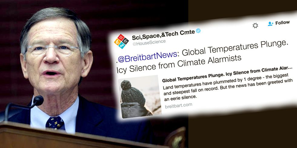 Why We Should Never Get Over the House Science Committee's Breitbart Tweet