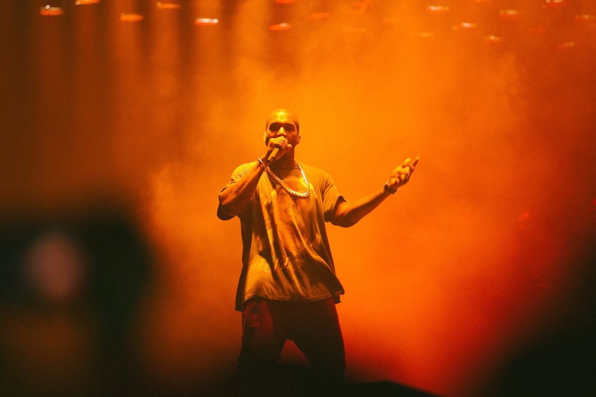 """Listen to Kanye West's Unreleased Track """"Ass Shots,"""" Feat. French Montana & Cam'ron"""