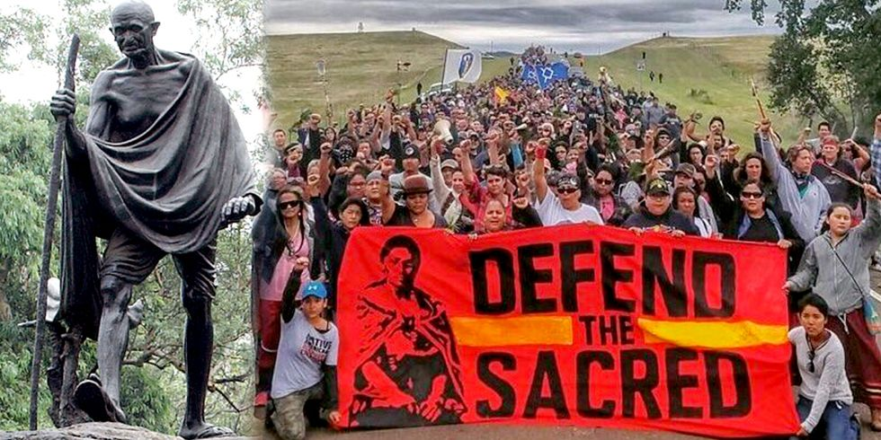 Standing Rock: Native American's Version of Gandhi's 1930 Salt March