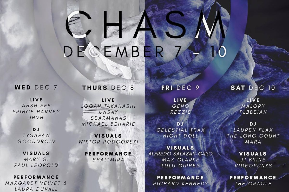 CHASM Is The Festival Bringing NYC's Finest New Media Artists, Performers Together