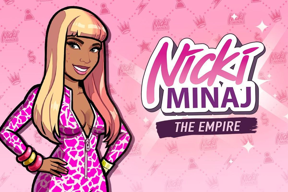 "Nicki Minaj Releases Her New Free-To-Play Mobile Game ""Nicki Minaj: The Empire"""