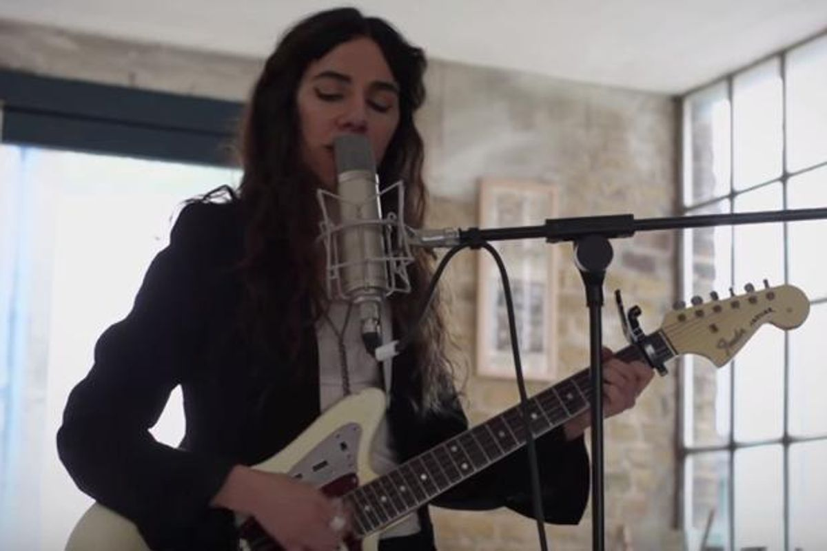 PJ Harvey's Journals Have Been Turned Into A BBC Movie