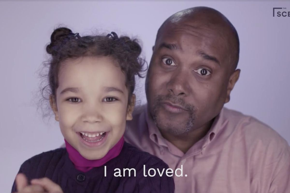 Cry Forever at This Powerful Clip of Dads Reciting Affirmations to their Daughters