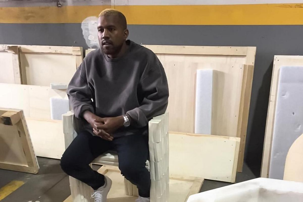 Kanye West Has Reemerged...As A Blond