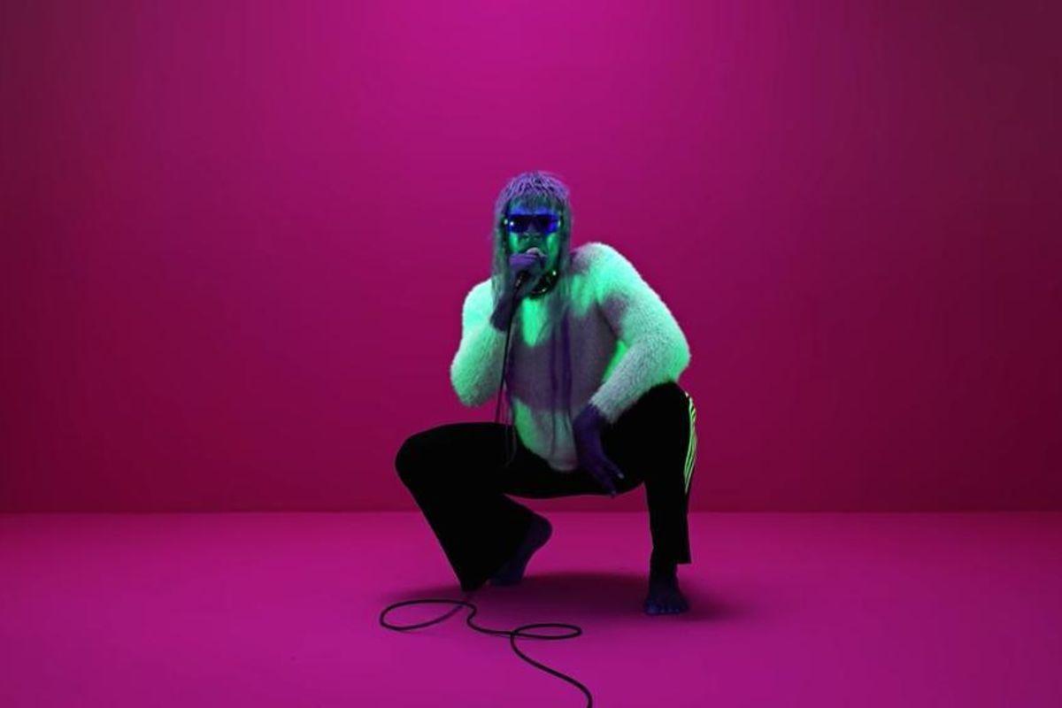 "Watch Mykki Blanco's Mesmerizing Performance of ""I'm In A Mood"""