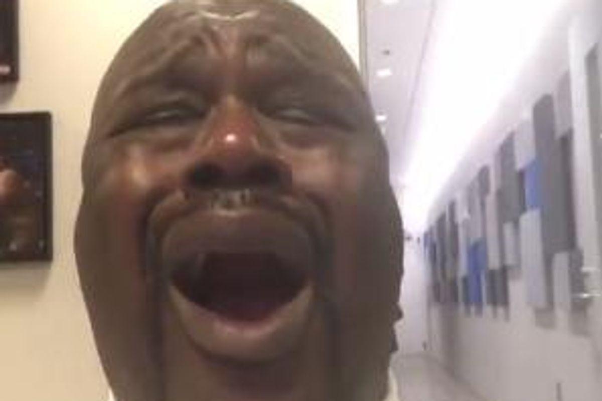 "Shaq's Heartfelt Lip-Sync Of Beyoncé's ""All Night"" Will Cure Your SAD"