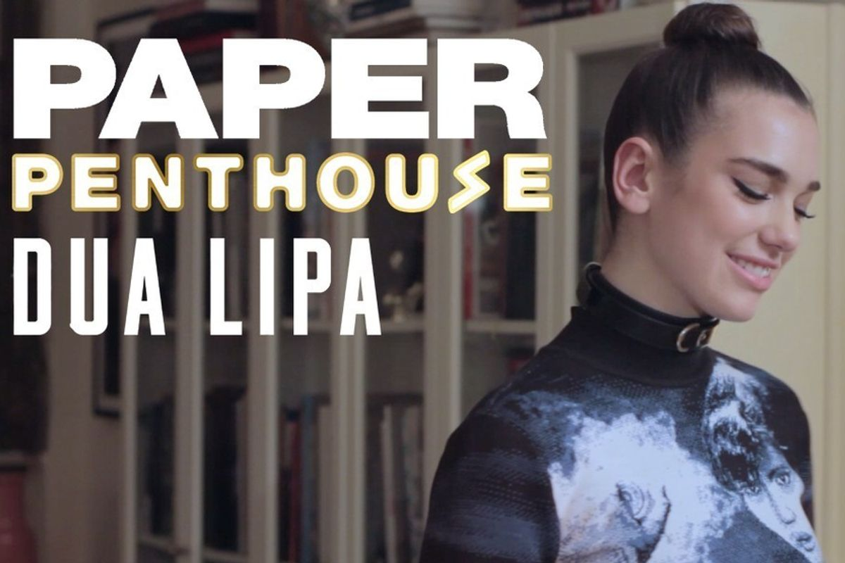 Dua Lipa Joins Us In The PAPER Penthouse