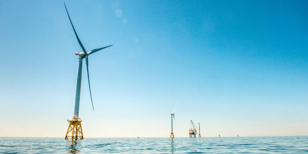 America's First Offshore Wind Farm Goes Online
