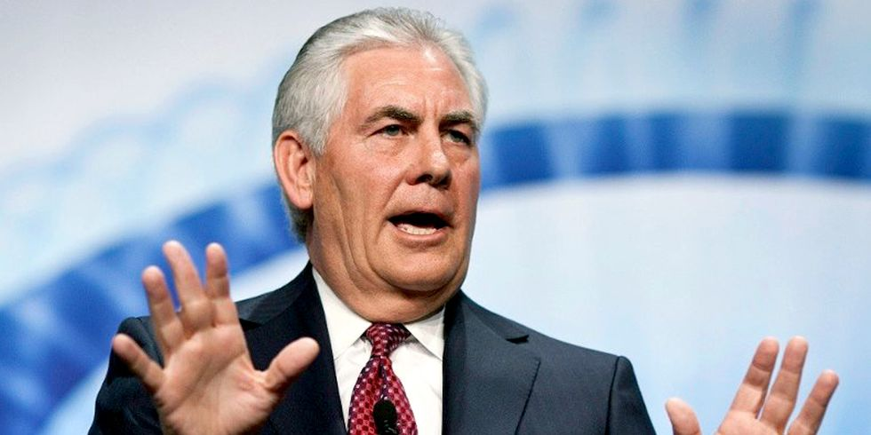 Trump Taps Exxon's Rex Tillerson as Secretary of State, Confirms 'Support of Big Oil and Putin'