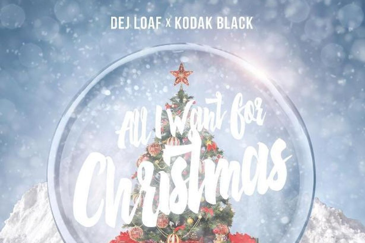 DeJ Loaf And Kodak Black Just Released Your New Favorite Christmas Song