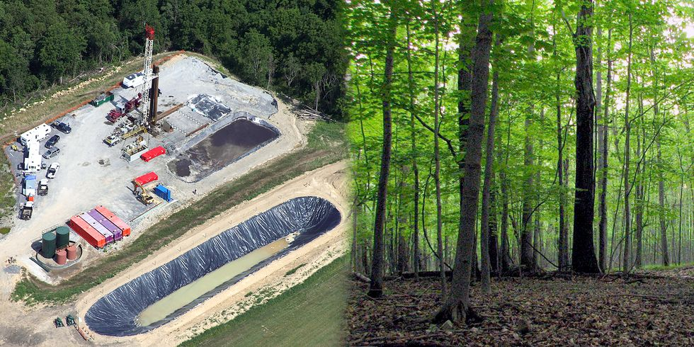 700+ Acres of Ohio's Only National Forest Leased for Fracking
