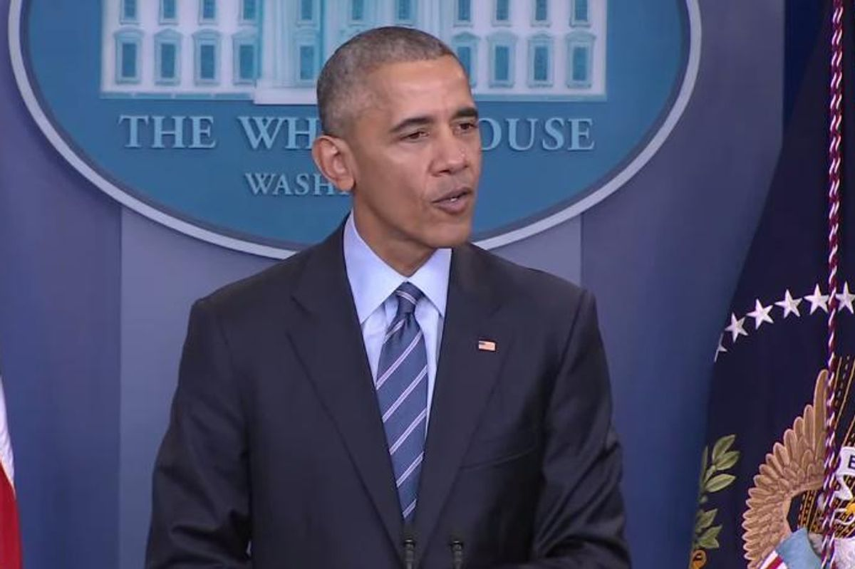 Watch President Obama's Last Press Conference of the Year, Try Not To Cry
