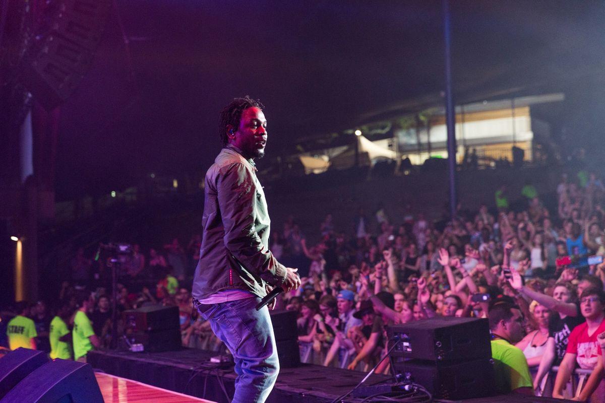 "Watch Kendrick Lamar and the Weeknd Sing ""Sidewalks"" in LA"