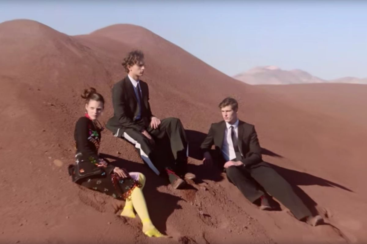 Watch Givenchy Models Stomp Around Mars In SS17 Campaign Film Shot By Mert And Marcus