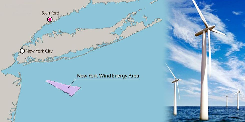 Norway's Biggest Oil Company to Build Huge Offshore Wind Farm Off Coast of New York