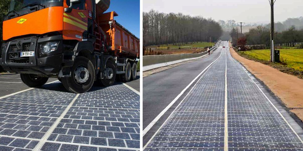 World's First Solar Road Opens in France