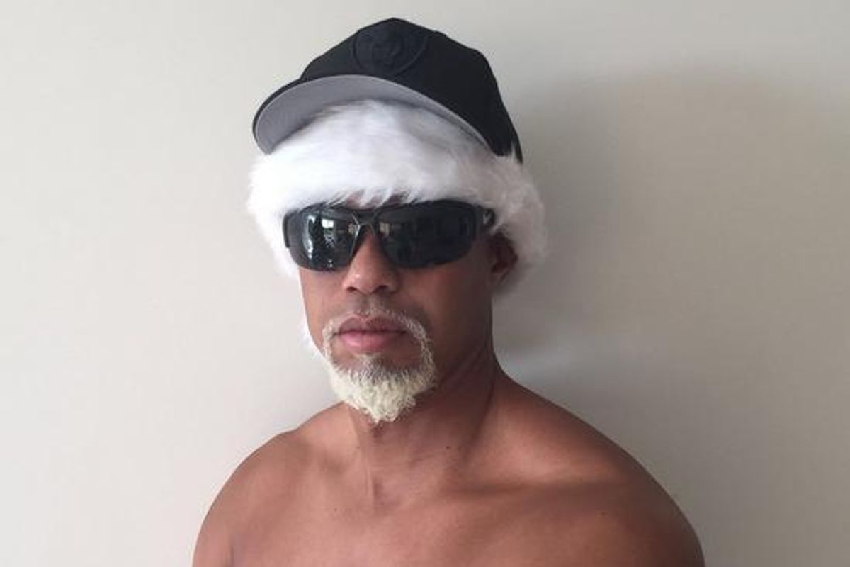 And Now, A Christmas Word From Tiger Woods