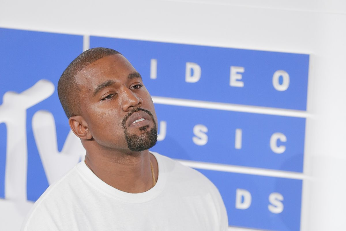Kanye West Now Has Pink Sherbet Hair