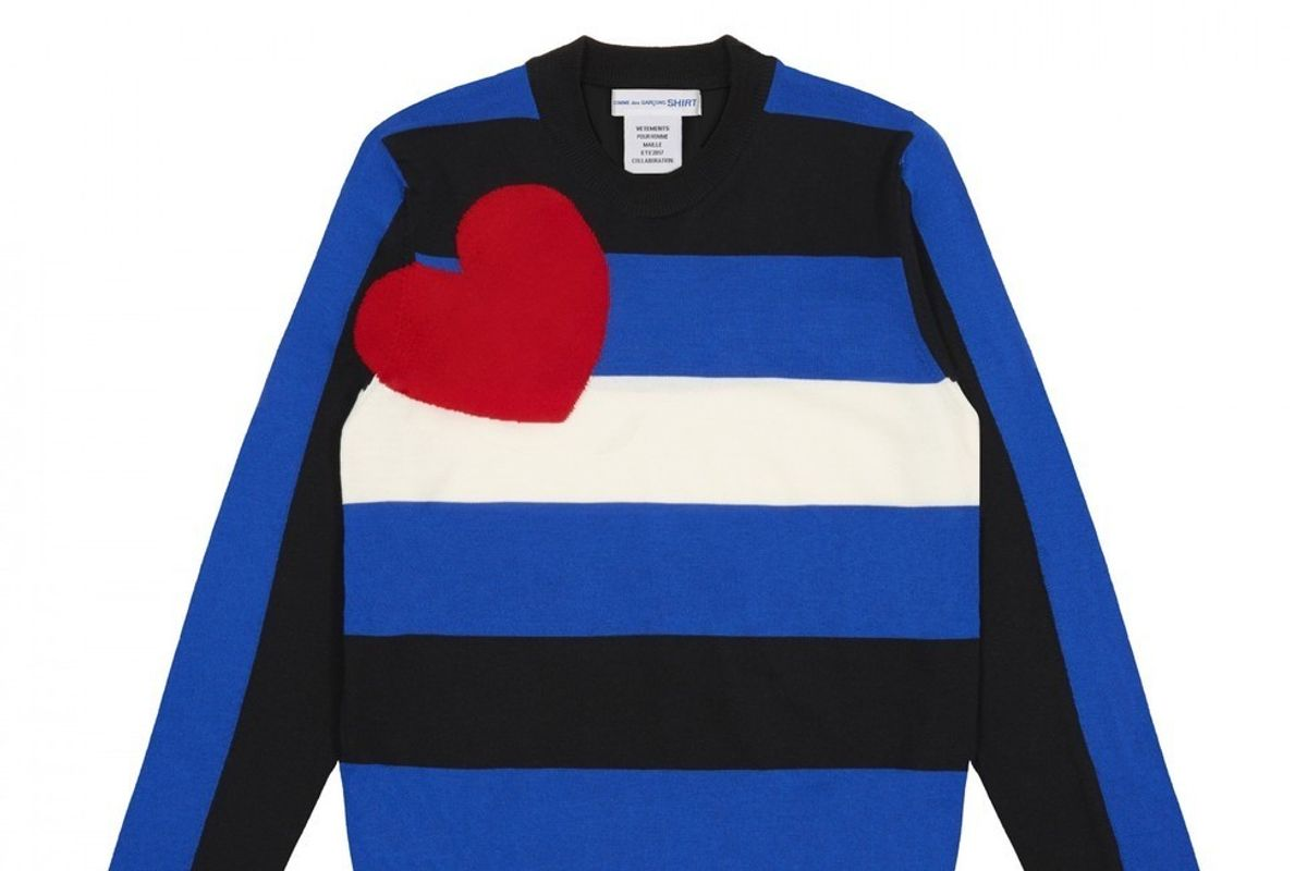Peep Comme Des Garcons and Vetements' LGBT Holiday Sweaters