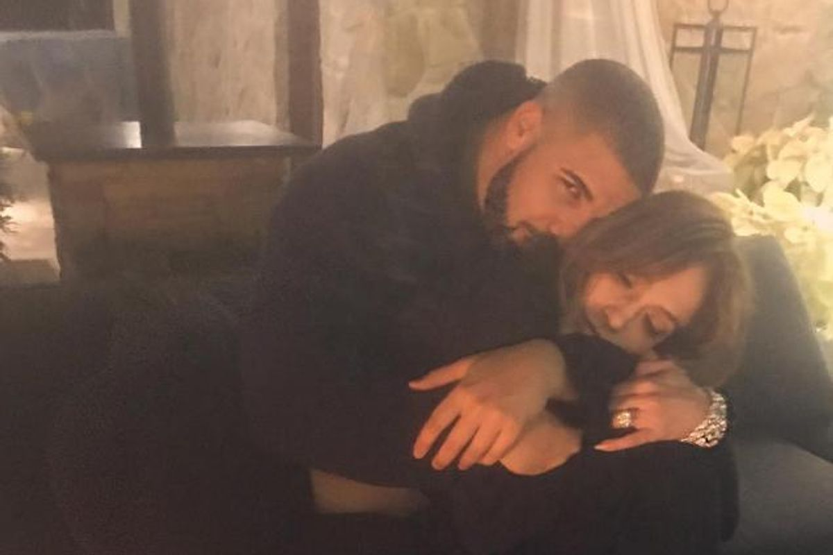Sooo Drake And J.Lo Posted Matching Couples Pics On Their Insta Accounts
