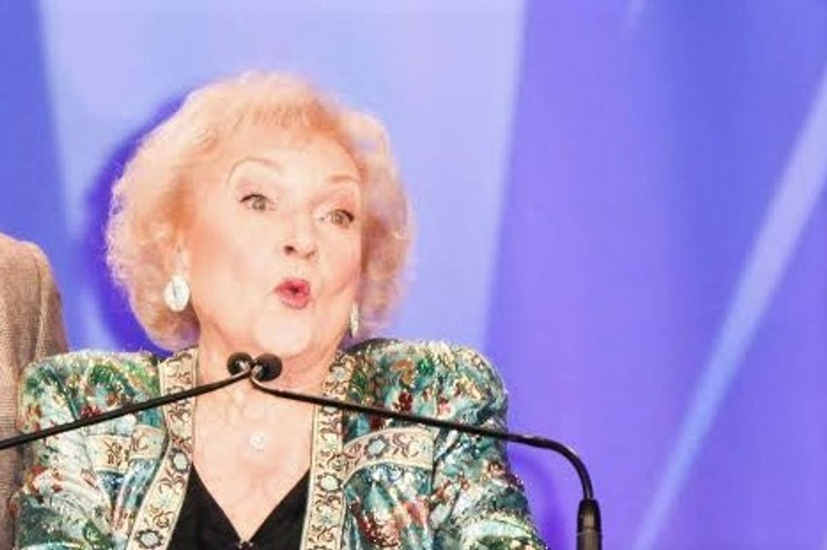 Protect Betty White From 2016 With This GoFundMe Campaign