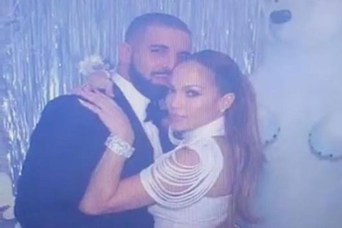 This Video Of J.Lo And Drake Fake Grinding Leaves Us With A Lot Of Real Questions
