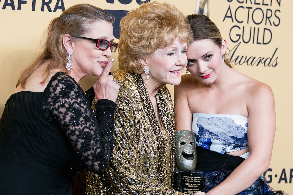 Billie Lourd Posts Heartbreaking Instagram About The Passing of Carrie Fisher, Debbie Reynolds