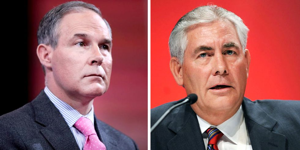 10 Questions the Senate Must Ask Pruitt and Tillerson