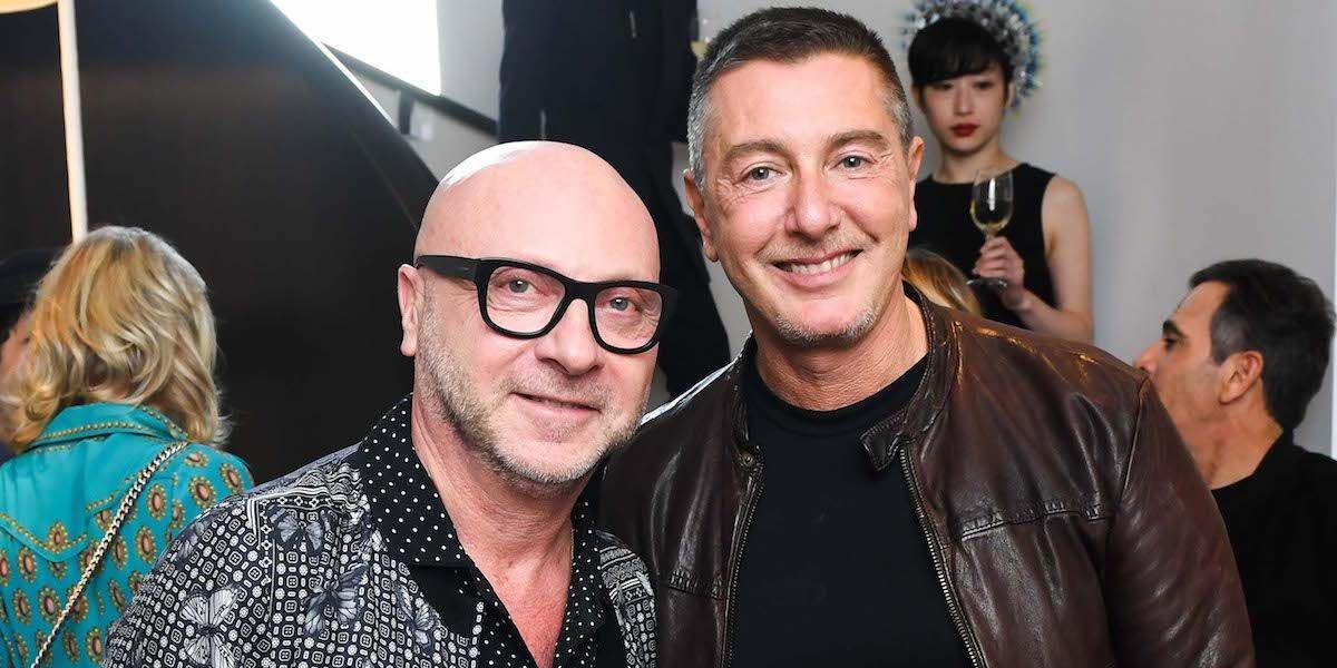 Dolce & Gabbana Are Chill With Melania Trump