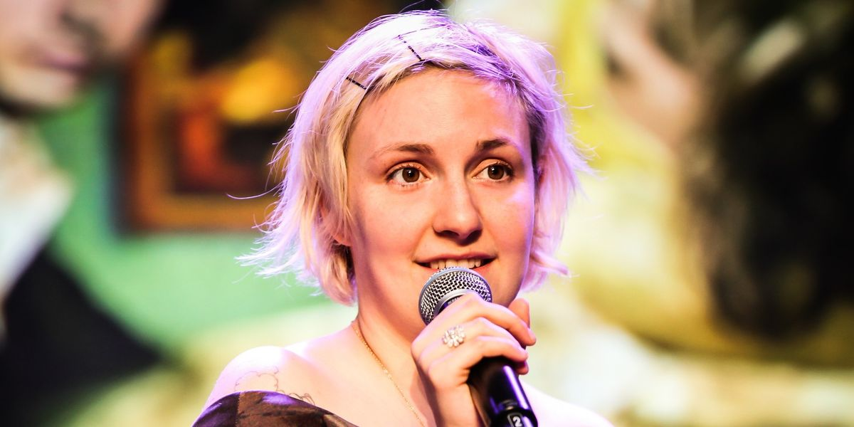Lena Dunham Pens A Powerful Statement About Her Unretouched Magazine Cover