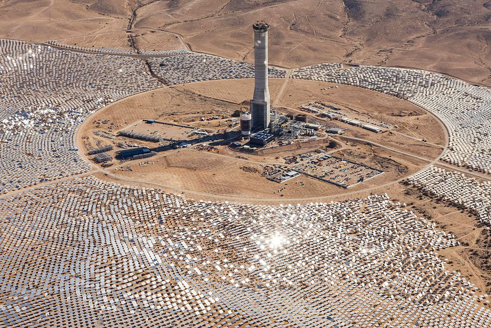 World's Tallest Solar Tower Could Help Make Israel a 'Sunshine Superpower'